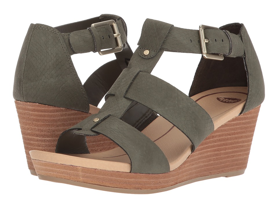 Dr. Scholl's Barton (Green Snake Print) Women's Shoes