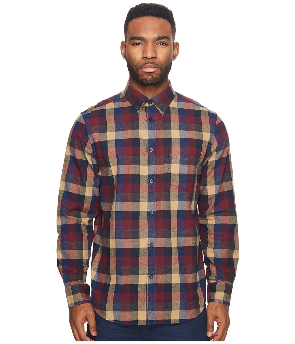 Ben Sherman - Long Sleeve Textured Buffalo Shirt