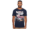 Ben Sherman Short Sleeve Union Jack Cut Up Graphic Tee