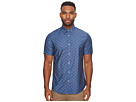 Ben Sherman Short Sleeve Stretch Clip Dobby Woven Shirt