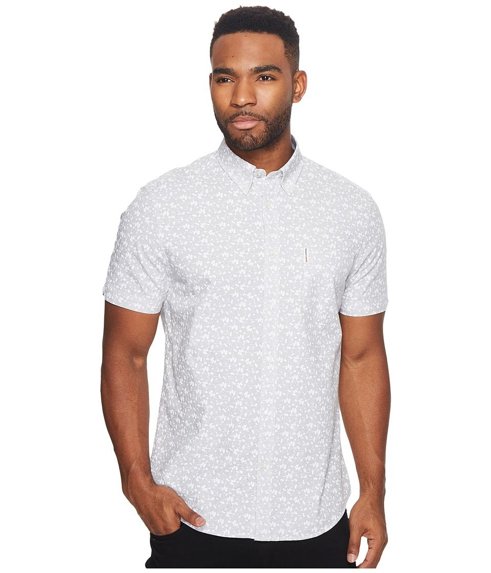 Ben Sherman - Short Sleeve End-End Floral Print Woven Shirt