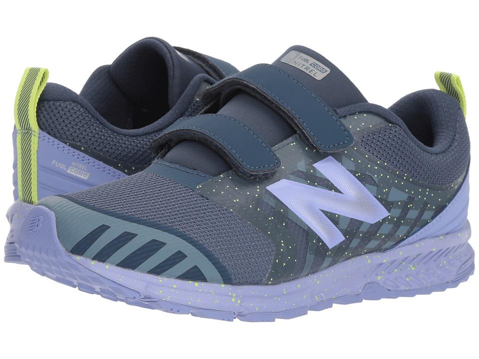 New Balance Kids FuelCore NITREL (Little Kid/Big Kid) (Vintage Indigo/Ice Violet) Girls Shoes