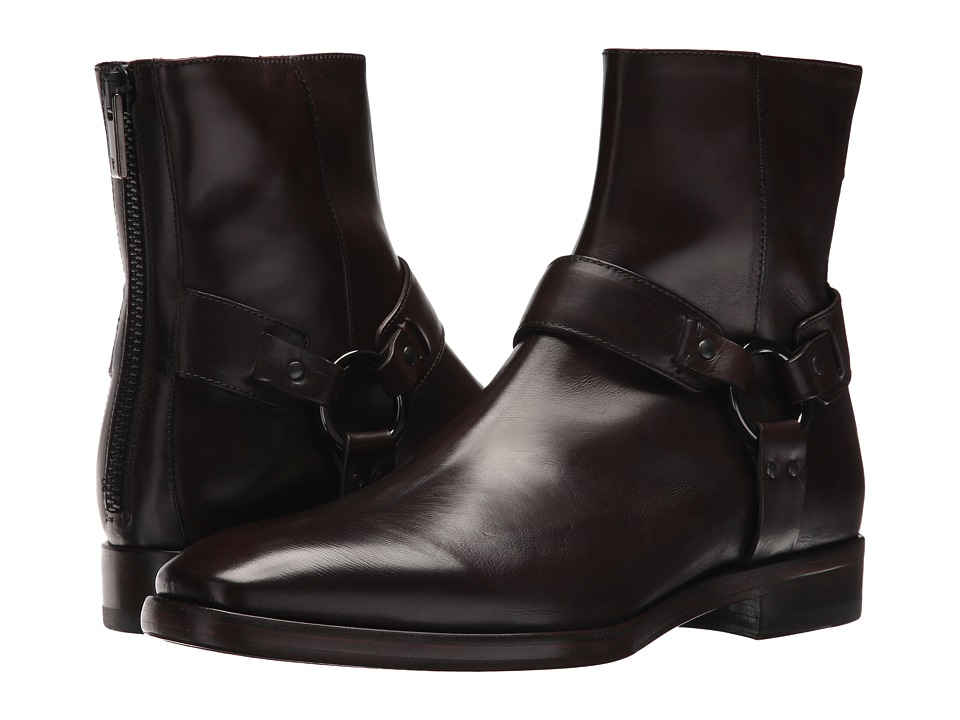Frye - Wright Harness (Dark Brown) Mens Shoes