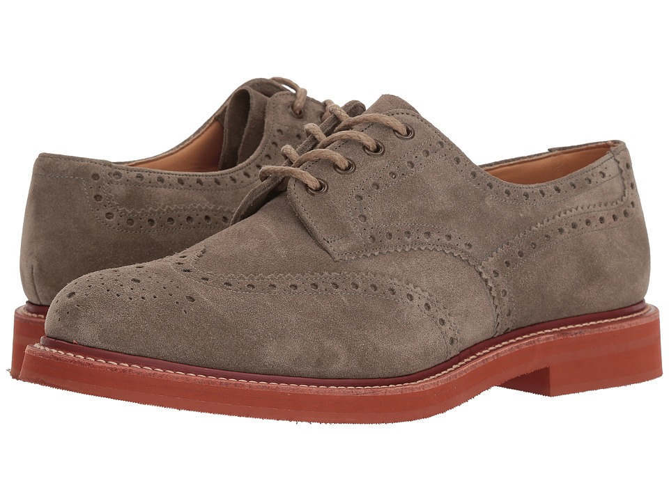 Churchs - Toulston Suede Oxford (Stone) Mens Shoes
