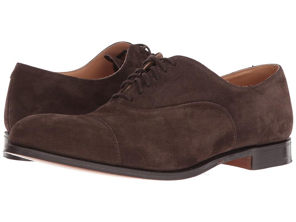 Churchs - Dubai Suede Oxford (Brown) Mens Shoes