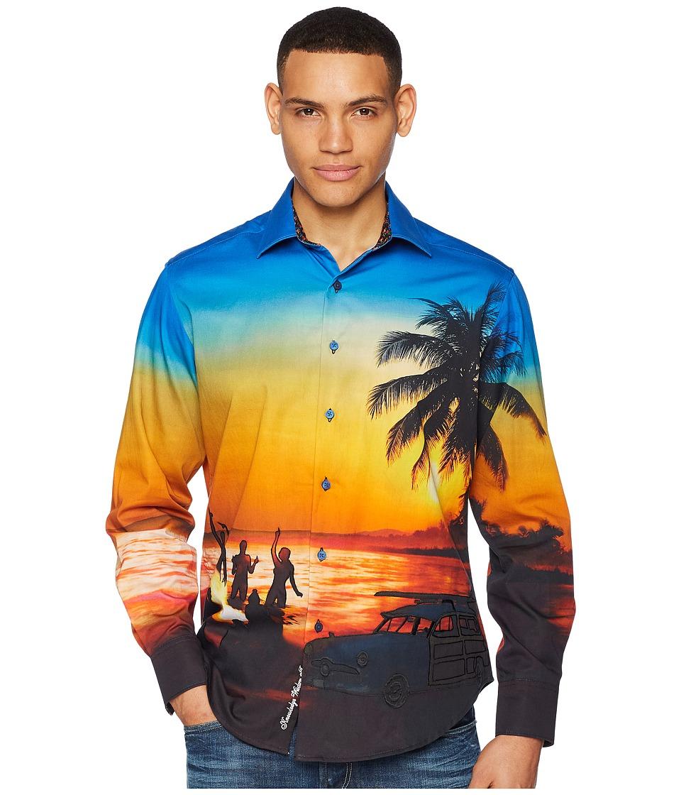 Robert Graham Sunset Chaser Long Sleeve Woven Shirt (Mult...