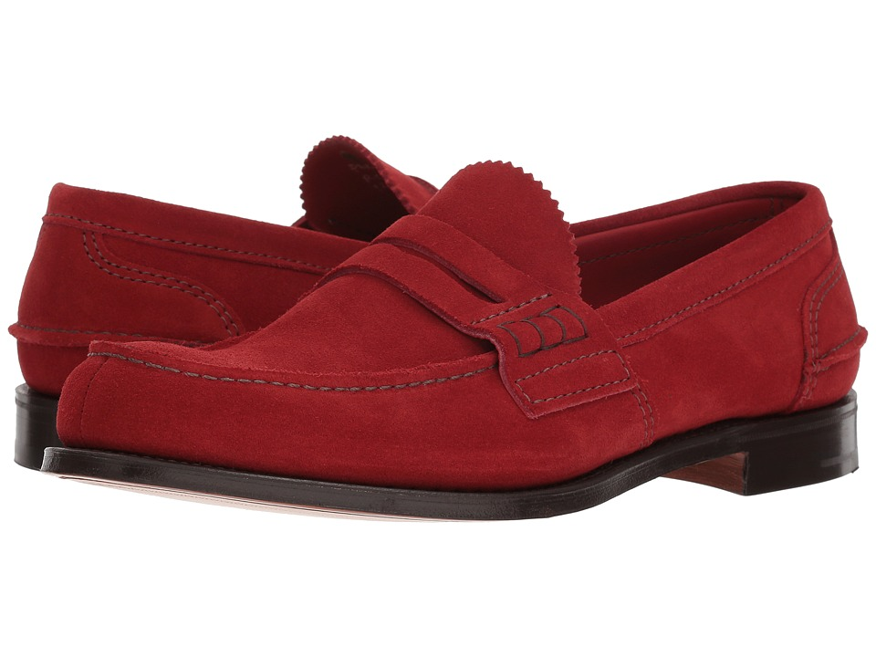 Churchs - Pembrey Loafer (Cherry Suede) Mens Shoes