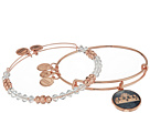 Alex and Ani Art Infusion Set, Queen's Crown Bangle