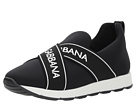 Dolce & Gabbana Kids Black Sneaker(Little Kid/Big Kid)