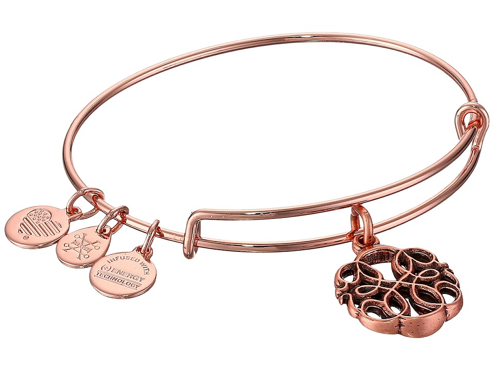 Alex and Ani - Path of Life Charm (Rose Gold) Bracelet