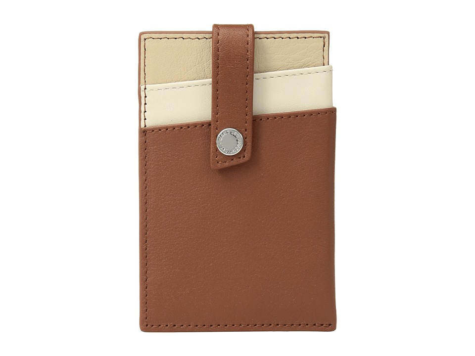 WANT Les Essentiels - Kennedy Money Clip Wallet (Multi Cognac/Sandshell) Wallet Handbags