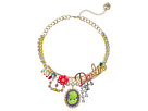 Betsey Johnson Darlin Frontal Necklace