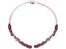 Betsey Johnson Pink Hinge Collar Necklace