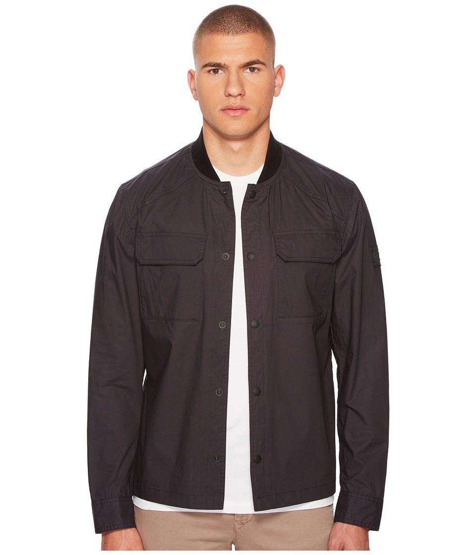 Image of BELSTAFF - Cardingham Flyweight Cotton Jacket (Navy) Men's Coat