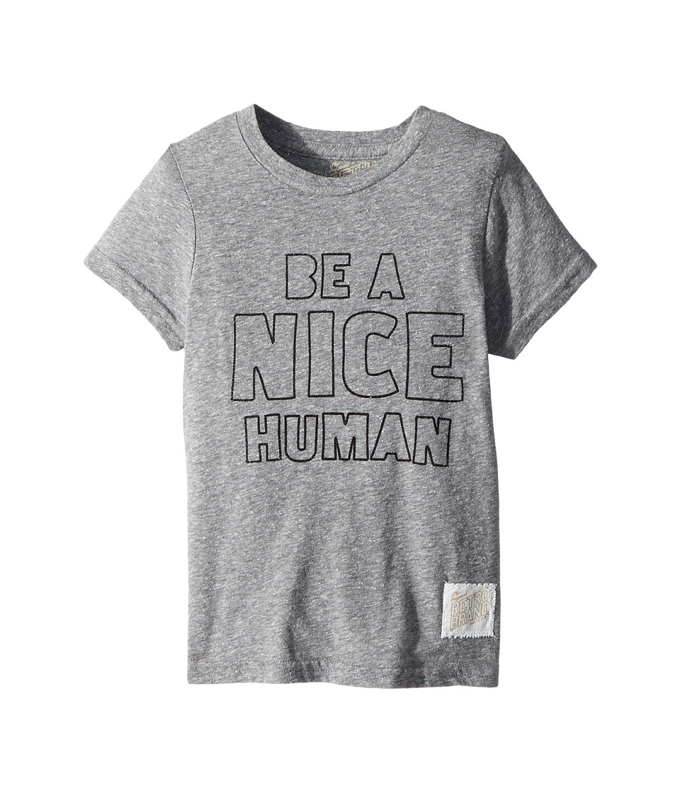 The Original Retro Brand Kids - Be A Nice Human Short Sleeve Tri