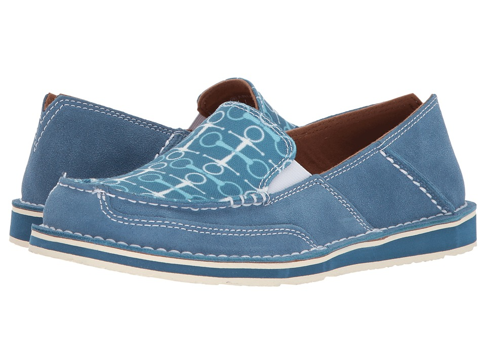 Ariat English Cruiser (Teal/Snaffle Bits) Slip-On Shoes