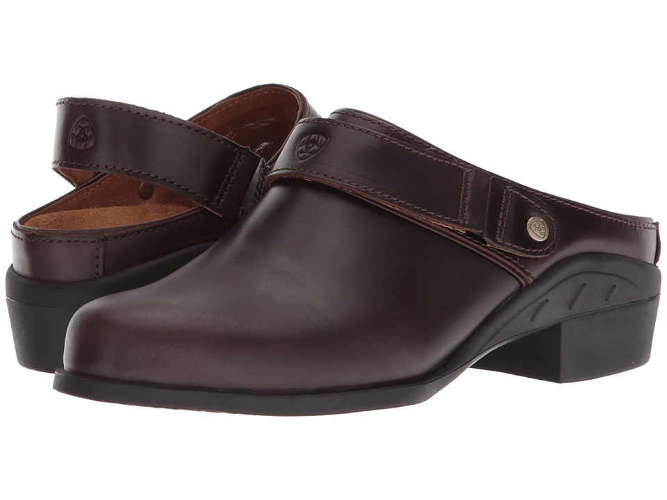 Ariat - Sport Mule (Waxed Chocolate 2) Women's Clog/Mule Shoes