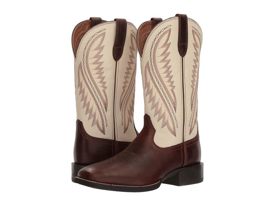 Ariat - Sport Stonewall (Native Nutmeg/Cream) Cowboy Boots