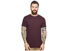 Ben Sherman Distorted Stripe Crew T-Shirt
