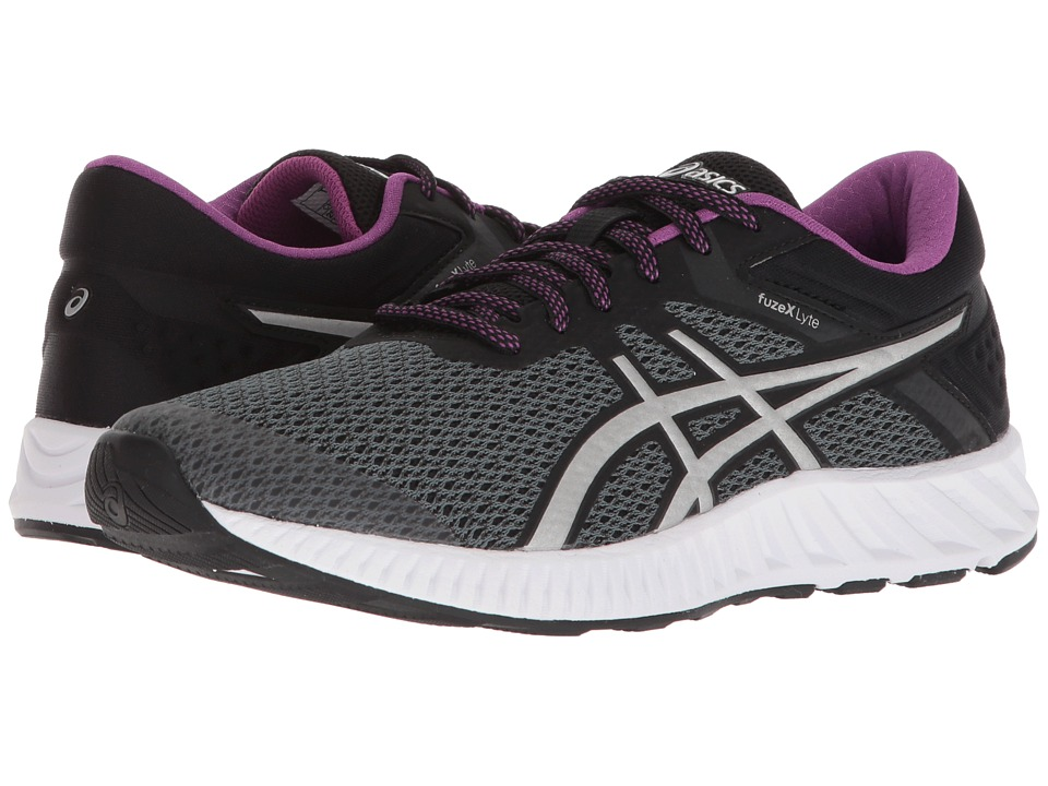 ASICS FuzeX Lyte 2 (Carbon/Silver/Black) Women's Running Shoes