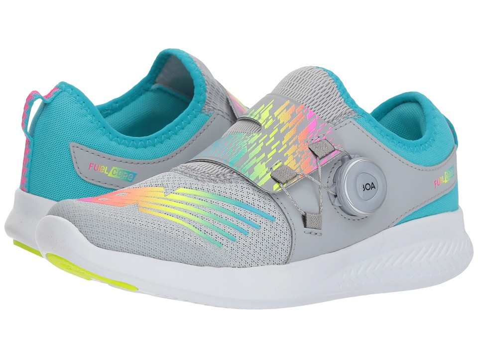 New Balance Kids FuelCore Reveal (Big Kid) (Silver Mink/Rainbow) Girls Shoes