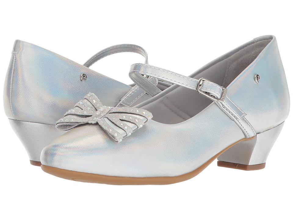 Pampili - 422008 (Little Kid/Big Kid) (Silver) Girls Shoes