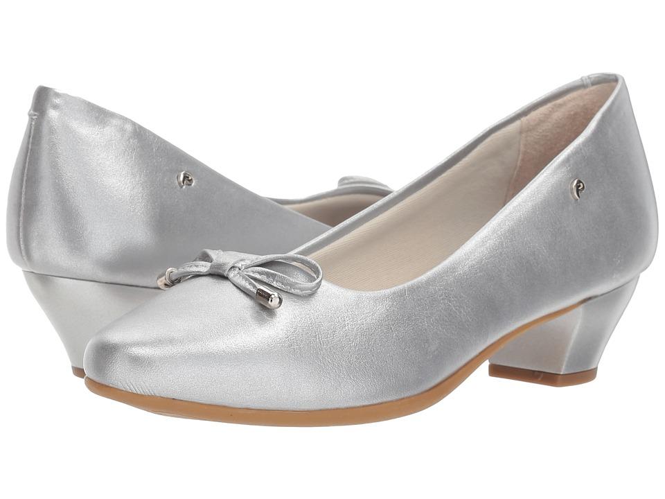 Pampili - 422016 (Little Kid/Big Kid) (Silver) Girls Shoes