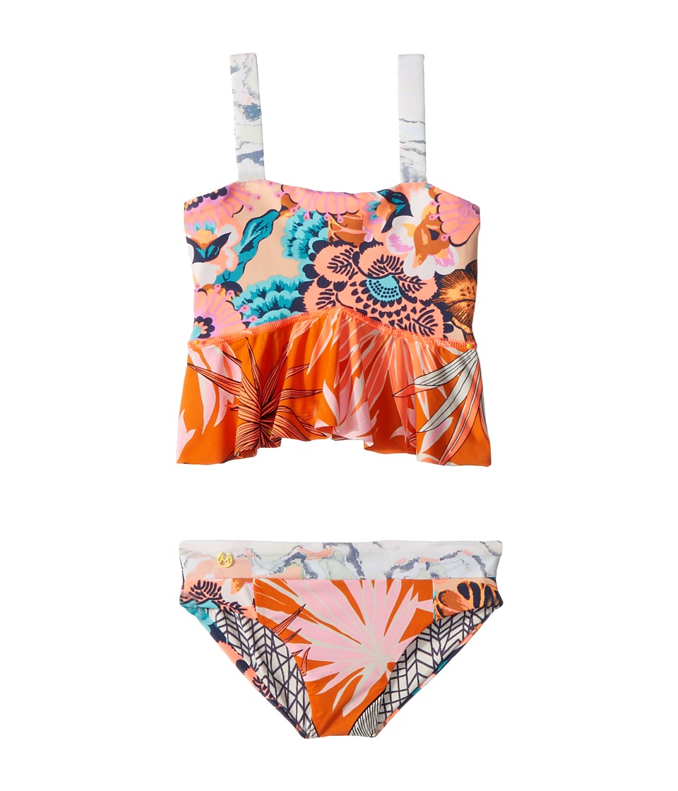 Maaji Kids - Florencia Sunset Bikini (Toddler/Little Kids/Big Kids) (Multicolor) Girls Swimwear Sets