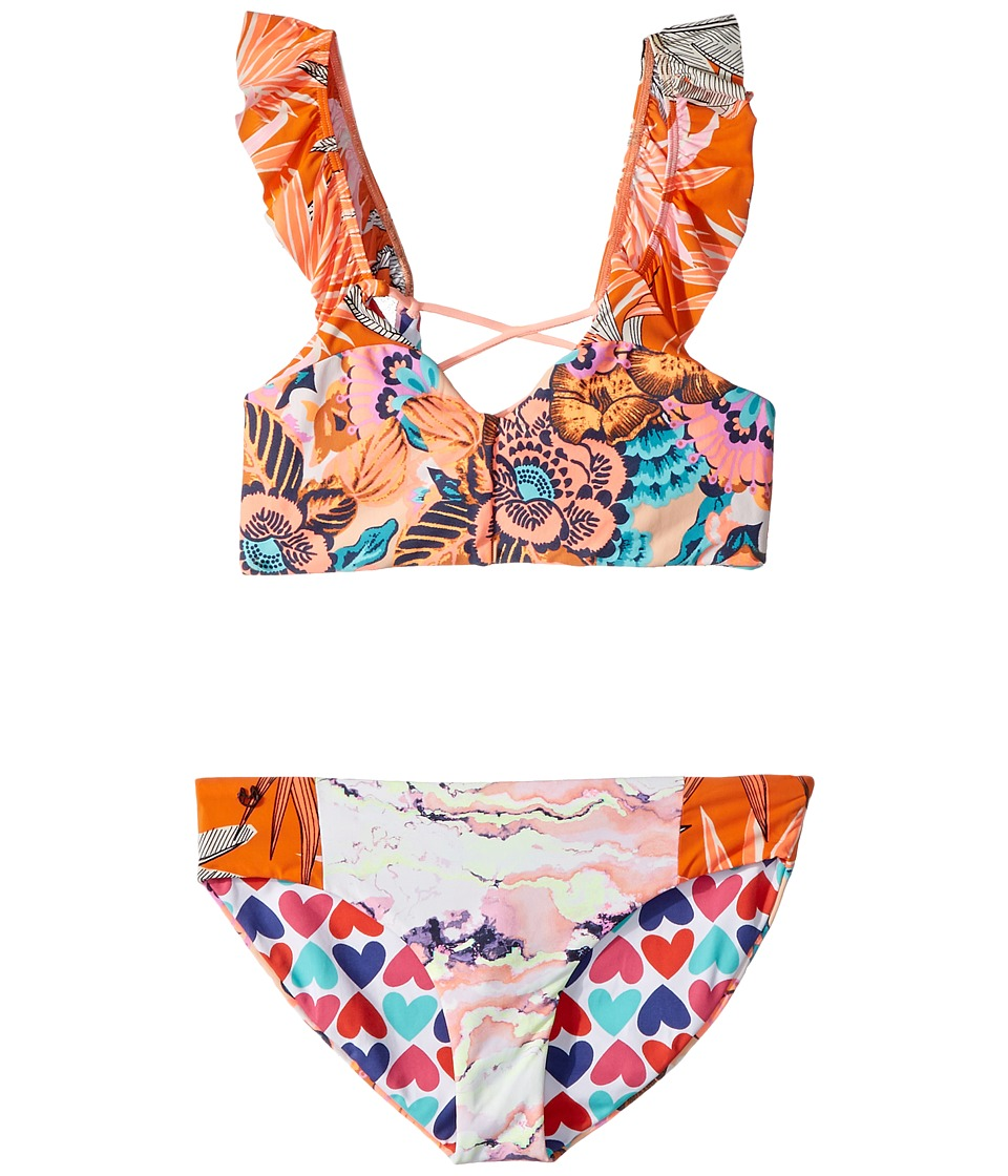 Maaji Kids - Tropic Cay Bikini (Toddler/Little Kids/Big Kids) (Multicolor) Girls Swimwear Sets