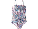 Seafolly Kids Candy Pop Ruched Tube Tank One-Piece (Toddler/Little Kids)