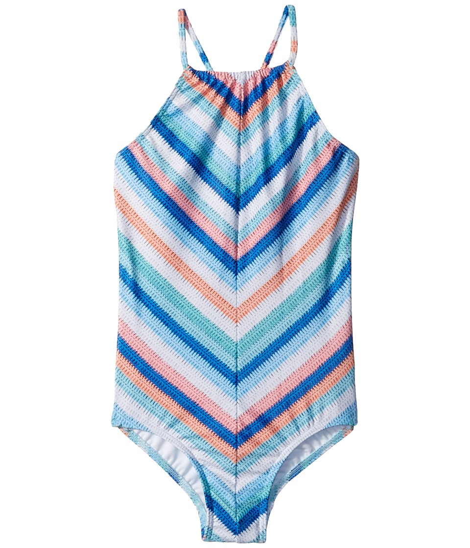 Seafolly Kids - Moonchild Stripe Ruched Neck Tank One