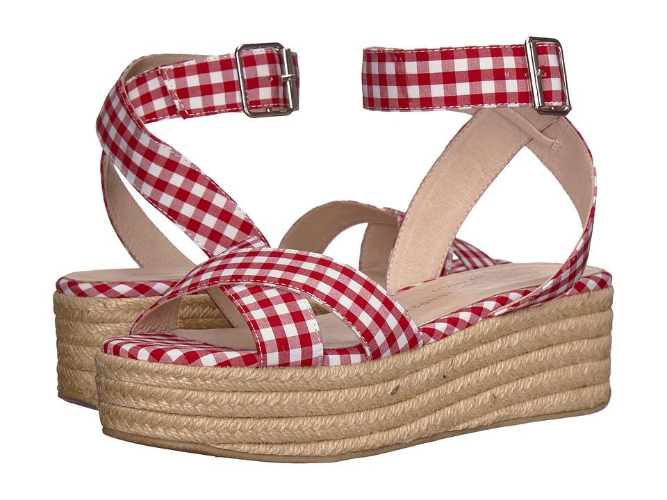 Chinese Laundry - Zala (Red/White Gingham) Women's Sandals
