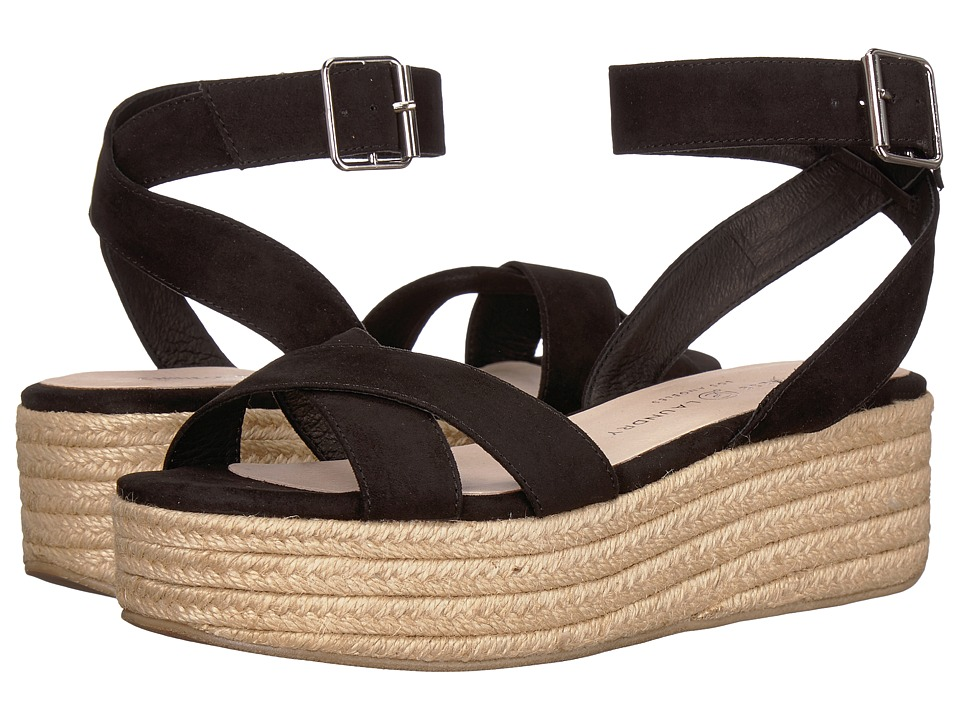 Chinese Laundry Zala Sandal (Black Microsuede) Sandals