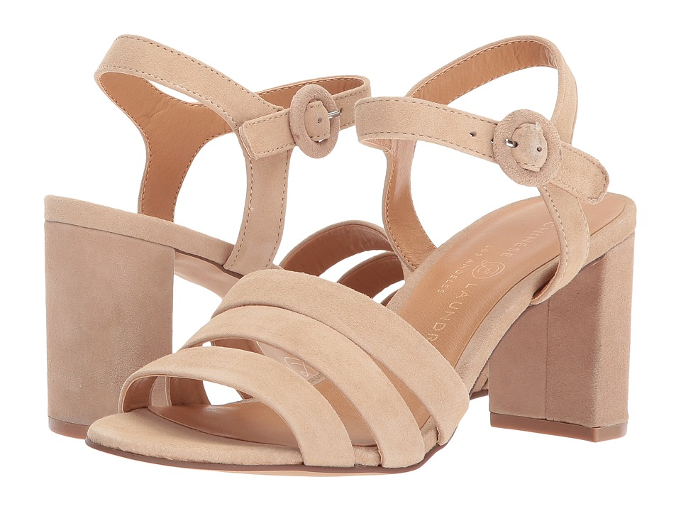 Chinese Laundry - Ryden (Nude Kid Suede) Women's Sandals
