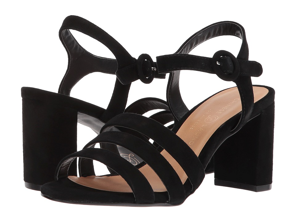 Chinese Laundry Ryden Sandal (Black Kid Suede) Sandals