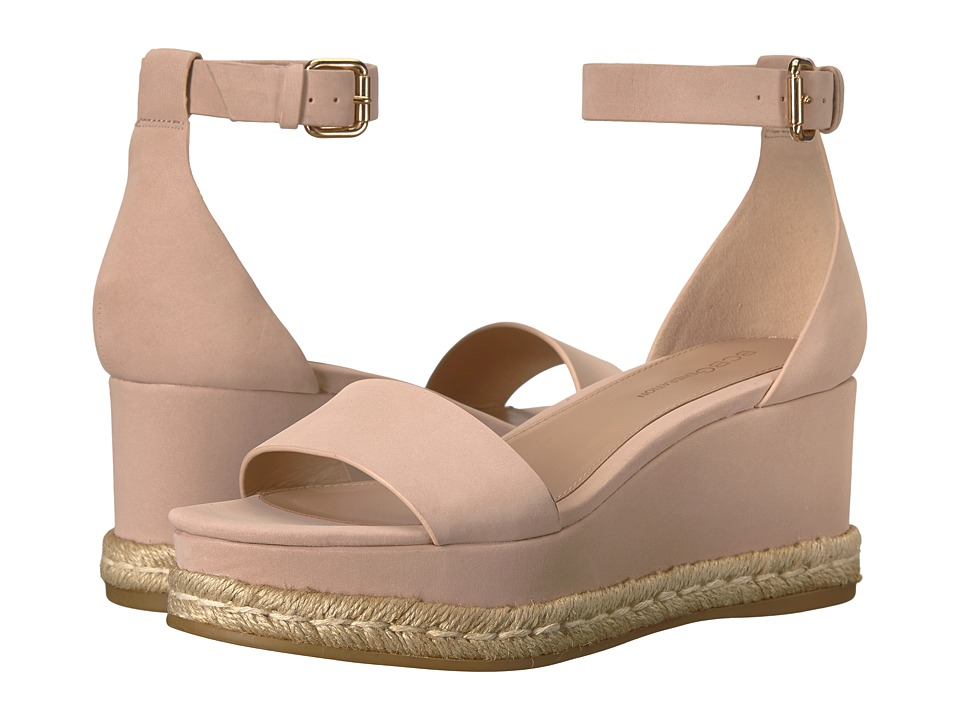 Image of BCBGeneration - Addie (Blush Velour Microsuede) Women's Sandals
