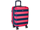 Tommy Hilfiger Rugby Stripe 21 Upright Suitcase