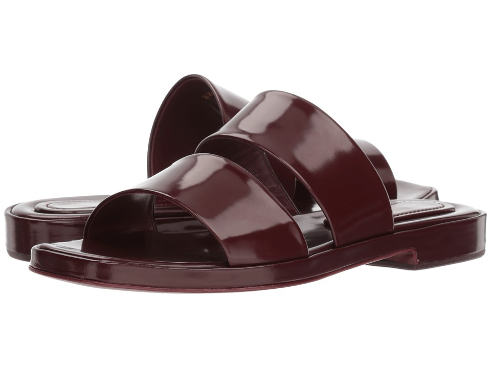 Stuart Weitzman - Weekend (Garnet Abrasivato) Womens Slip on  Shoes