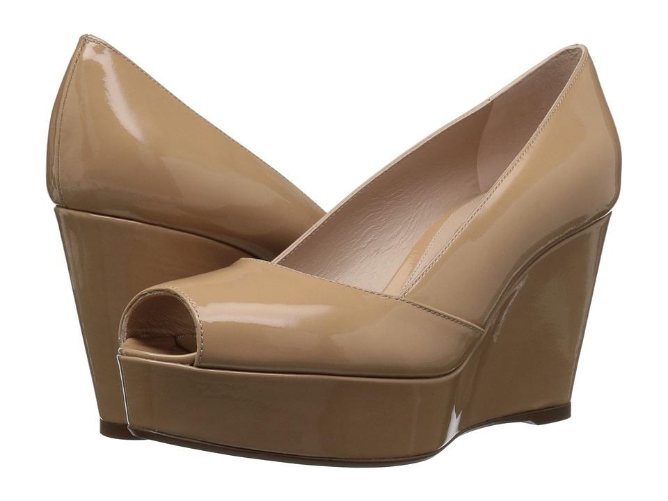 Stuart Weitzman Tori (Adobe Gloss) Women's Shoes