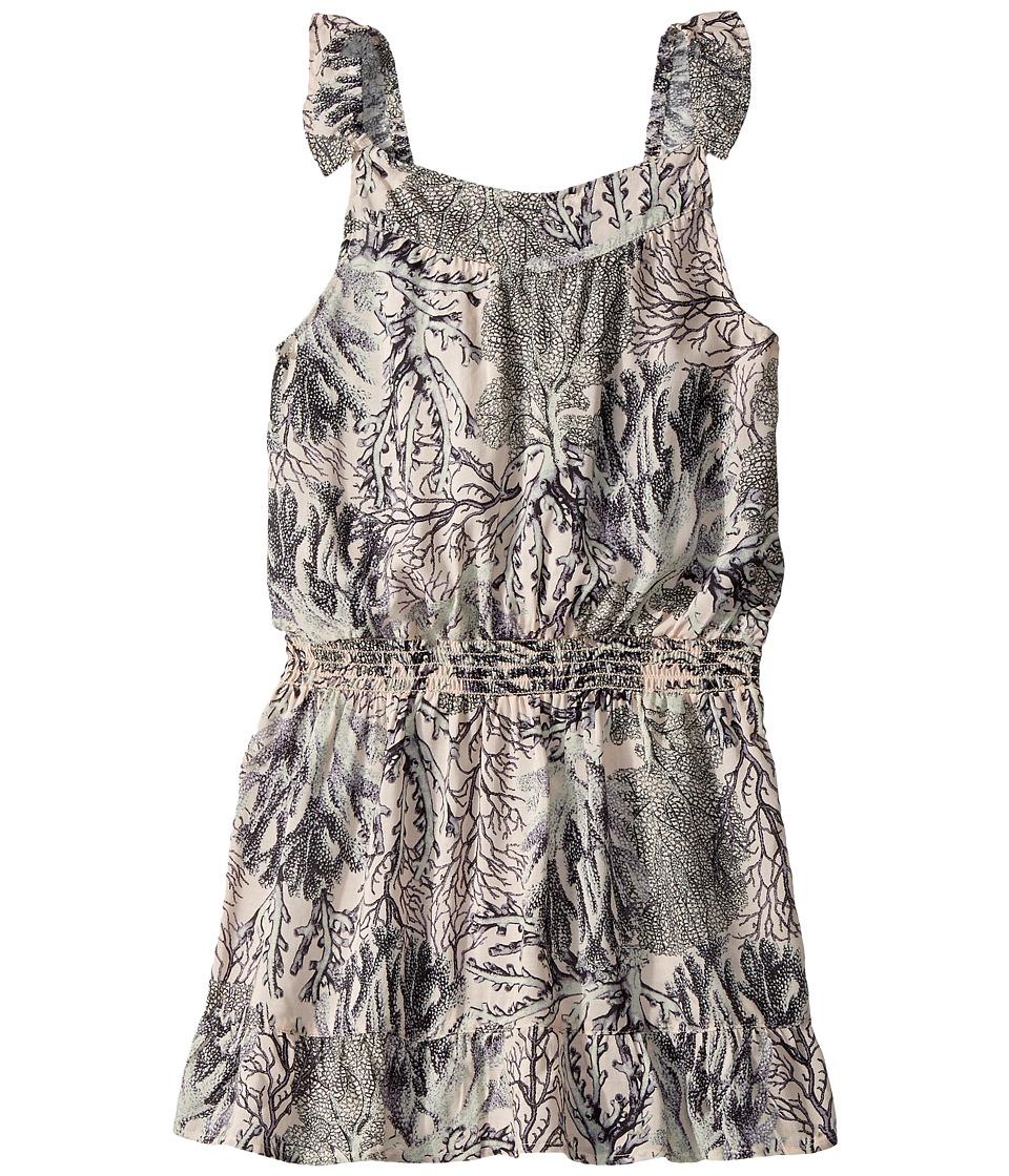 Maaji Kids Desert Pupfish Short Dress Cover-Up (Toddler/Little Kids/Big Kids) (Gray) Girl