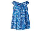 Maaji Kids Blue Cat Fish Short Dress Cover-Up (Toddler/Little Kids/Big Kids)