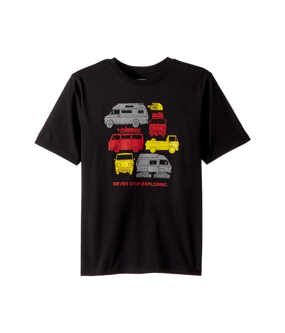 The North Face Kids - Short Sleeve Graphic Tee (Little Kids/Big Kids) (TNF Black/Multicolor) Boys Clothing