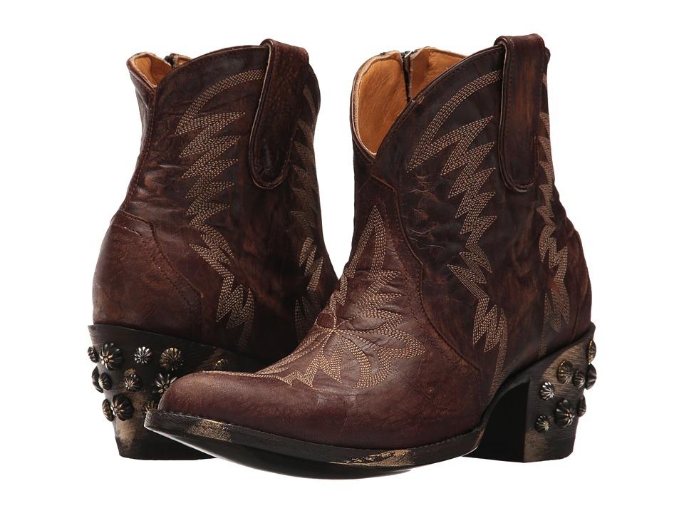 Old Gringo Moreen Short (Brass) Cowboy Boots