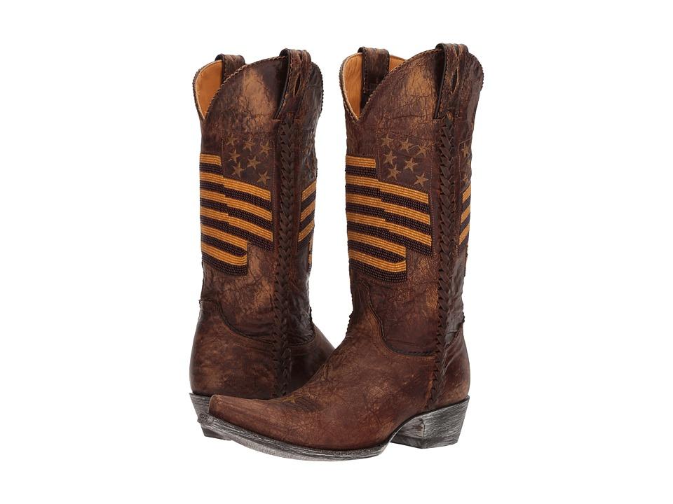 Old Gringo Eleanor (Brass) Cowboy Boots