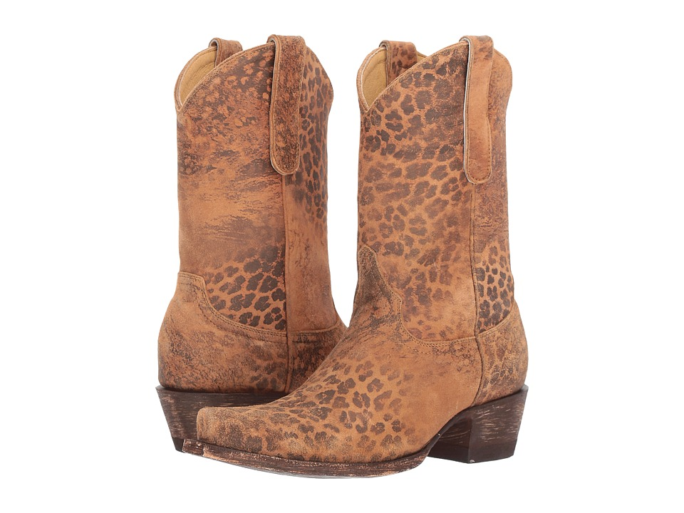 Old Gringo Leopardito YP (Ochre) Cowboy Boots