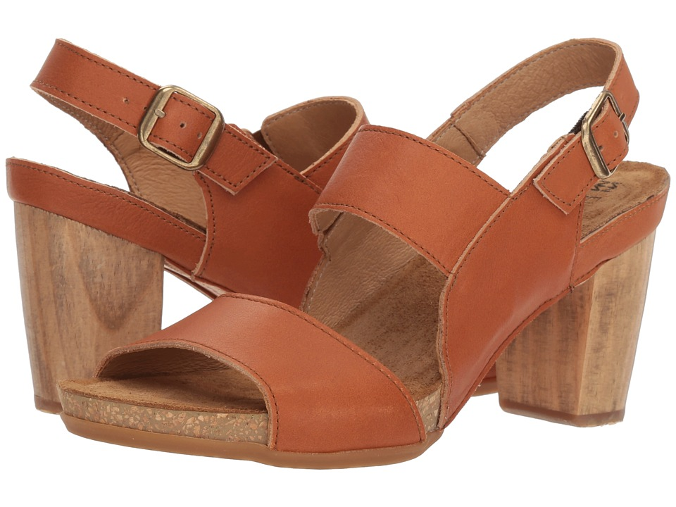 El Naturalista - Kuna N5020 (Henna) Womens Shoes
