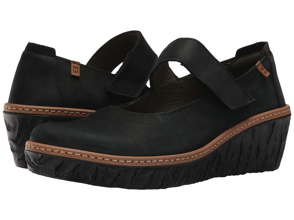 El Naturalista - Myth Yggdrasil N5135 (Black) Womens Shoes