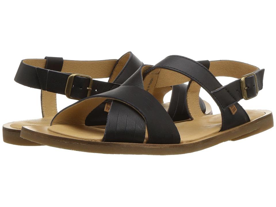 El Naturalista - Tulip N5181 (Black) Womens Shoes