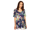 Nally & Millie Blue Floral Tunic