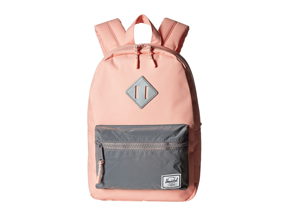 Herschel Supply Co. - Heritage Kids (Little Kids/Big Kids) (Peach/Reflective) Backpack Bags